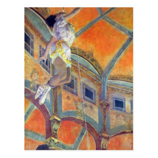 Edgar Degas - Miss Lala in Circus Fernando Postcard
