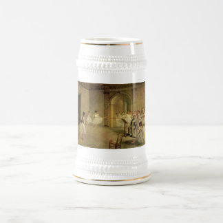 Edgar Degas - Opera Ballet Hall Rue Peletier 1872 Beer Stein