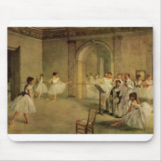 Edgar Degas - Opera Ballet Hall Rue Peletier 1872 Mouse Pad