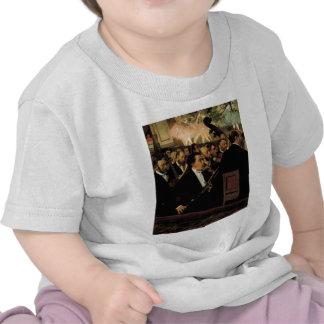 Edgar Degas - Orcchestra of Opera 1870 Clarinet Tshirts
