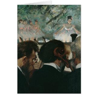 Edgar Degas | Orchestra Musicians Card
