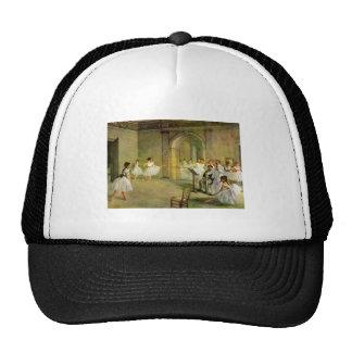 Edgar Degas - Pasillo del ballet de la ópera en la Gorras De Camionero