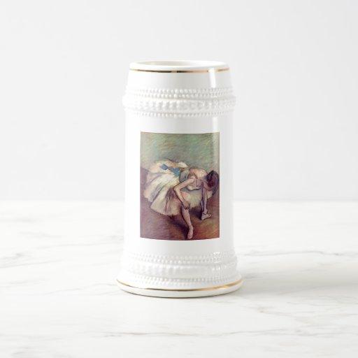 Edgar Degas - pastel 1881-83 del estiramiento del Jarra De Cerveza