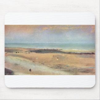 Edgar Degas - pastel de la marea baja 1869-70 de l Alfombrilla De Ratones