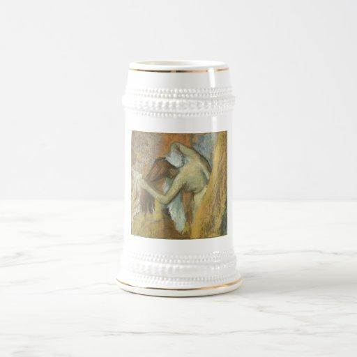 Edgar Degas - pelo 1900-05 de la vanidad de Toilet Jarra De Cerveza