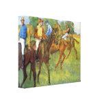 Edgar Degas - pese Impresión En Lienzo Estirada