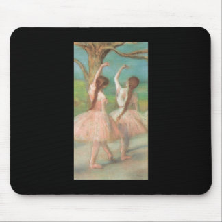 Edgar Degas Pink Dancer Mouse Pad