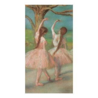 Edgar Degas Pink Dancer Print
