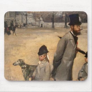 Edgar Degas   Place de la Concorde, 1875 Mouse Pad