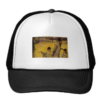 Edgar Degas - Place of Concorde 1875 oil canvas Trucker Hat