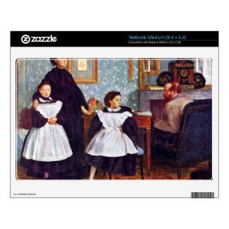 Edgar Degas - Portait of the Bellelli family Skin For Netbook