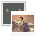 Edgar Degas - Portrait Madame Rene de Gas 1872-73 Pins
