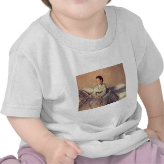 Edgar Degas - Portrait Madame Rene de Gas 1872-73 Tshirt