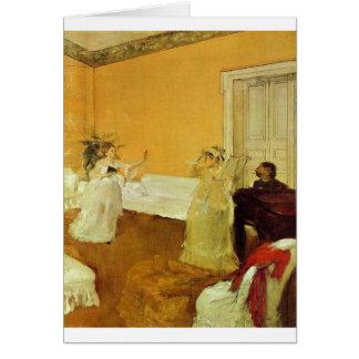 Edgar Degas - Portrait Marcellin Desboutin 1872-73 Card