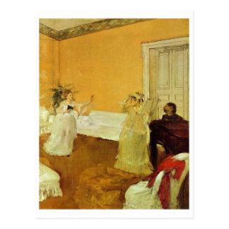 Edgar Degas - Portrait Marcellin Desboutin 1872-73 Postcard