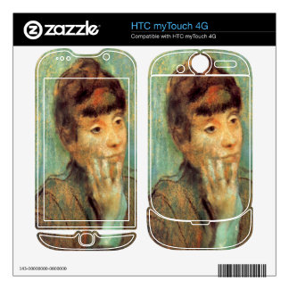 Edgar Degas - Portrait of a Lady HTC myTouch 4G Decal