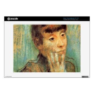 Edgar Degas - Portrait of a Lady Acer Chromebook Decal