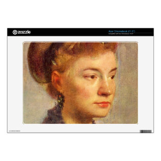 Edgar Degas - Portrait of a young Lady Acer Chromebook Skin