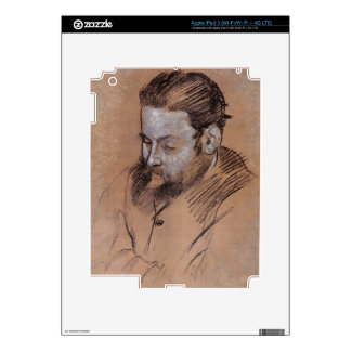 Edgar Degas   Portrait of Diego Martelli Skins For iPad 3
