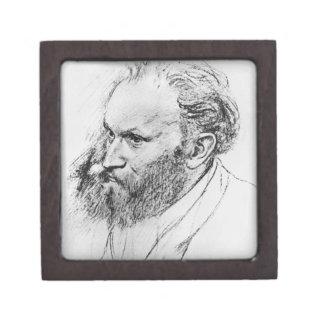 Edgar Degas | Portrait of Edouard Manet  Jewelry Box