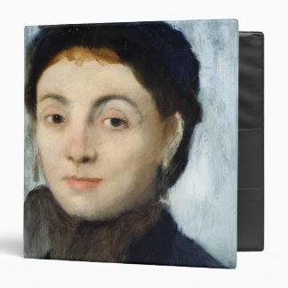 Edgar Degas | Portrait of Josephine Gaujelin, 1867 Binder