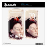 Edgar Degas - Portrait of Madame Lisle Skins For The HTC Hero