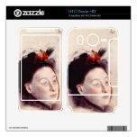 Edgar Degas - Portrait of Madame Lisle HTC Desire HD Skins