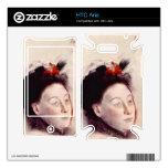 Edgar Degas - Portrait of Madame Lisle HTC Aria Skins