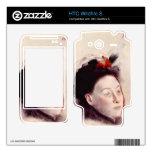 Edgar Degas - Portrait of Madame Lisle HTC Wildfire S Skins