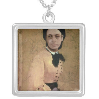Edgar Degas | Portrait of Pauline de Metternich Silver Plated Necklace