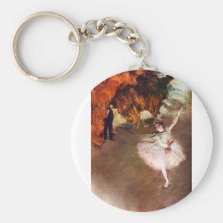 Edgar Degas - Prima Ballerina Key Chain