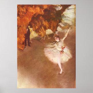 Edgar Degas - Prima Ballerina Rosita Mauri 1878 Poster