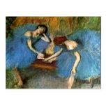 Edgar Degas que baila la bella arte de las Postal