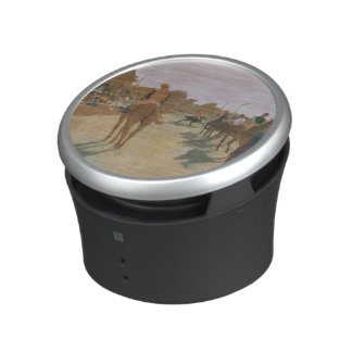 Edgar Degas | Race Horses in front of the Stands Bluetooth Speaker