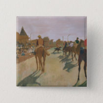 Edgar Degas | Race Horses in front of the Stands Button