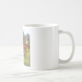 Edgar Degas - Race Horses Jockey Trees Rennpferde Coffee Mugs
