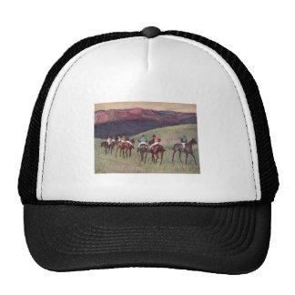 Edgar Degas - Race Horses Training 1894 racehorses Trucker Hat