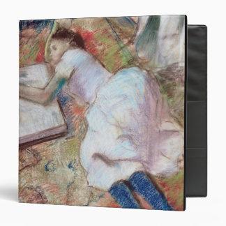 Edgar Degas | Reader Lying Down, c.1889 Binder
