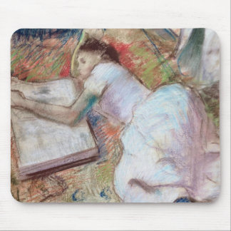 Edgar Degas | Reader Lying Down, c.1889 Mouse Pad