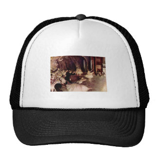 Edgar Degas - Rehearsal Ballet 1878-79 oil canvas Trucker Hat