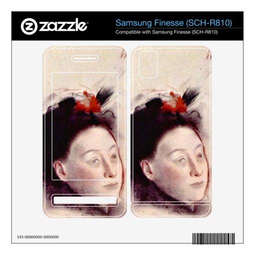 Edgar Degas - retrato de señora Lisle Samsung Finesse Skin