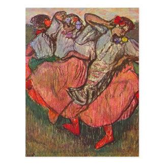 Edgar Degas - Russian Dancers Postcard