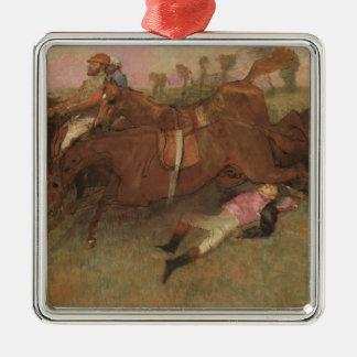 Edgar Degas | Scene from the Steeplechase Metal Ornament