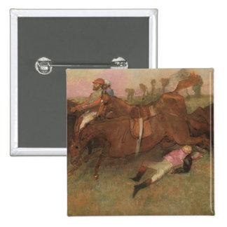Edgar Degas   Scene from the Steeplechase Pinback Button