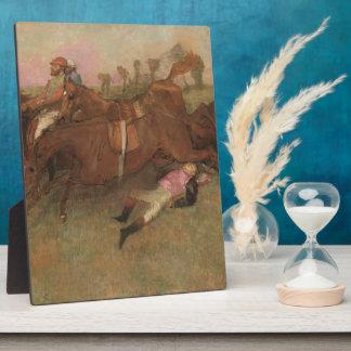 Edgar Degas   Scene from the Steeplechase Plaque