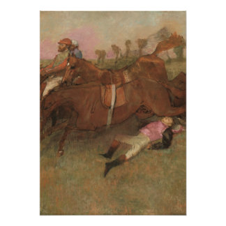 Edgar Degas | Scene from the Steeplechase Poster