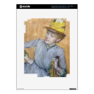 Edgar Degas   Seated Woman, 1887 iPad 3 Decals