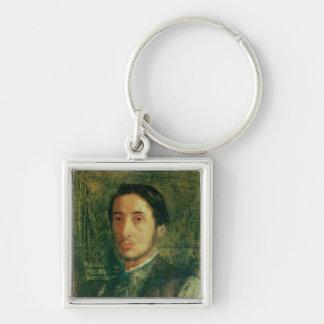 Edgar Degas | Self Portrait as a Young Man Keychain