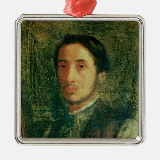Edgar Degas | Self Portrait as a Young Man Metal Ornament