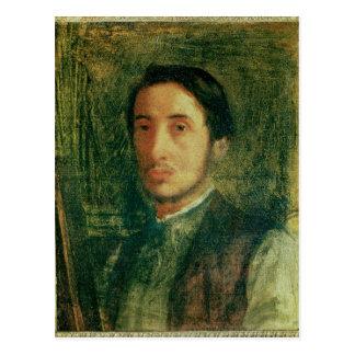 Edgar Degas   Self Portrait as a Young Man Postcard
